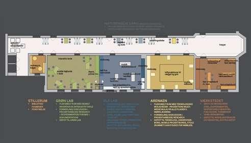 Læringsmiljø Learning Spaces i Århus - Learningspaces v/ Winie Ricken